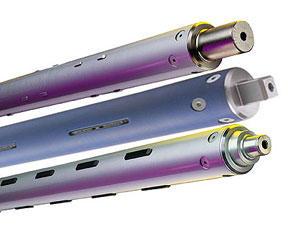 Lightweight Composite / Aluminum Extrusion Shafts