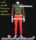 เสื้อผู้ชายสีสด เชิ้ตผู้ชายสีสด ชุดแหยม เสื้อแบบแหยม ชุดพี่คล้าว ชุดย้อนยุคผู้ชาย เสื้อสีสดผู้ชาย เชิ้ตสีสด(ไซส์ L:รอบอก 38)(AH) (ดูไซส์ส่วนอื่น คลิ๊กค่ะ)