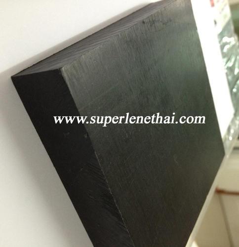 UHMWPE(PE1000) แผ่น สีดำ จากเยอรมัน