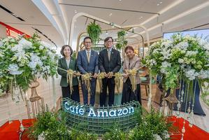 พีทีที โออาร์ เปิด คาเฟ่ อเมซอน ในสิงคโปร์