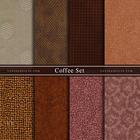 ผ้าคอตตอนนอกจัดเซ็ท Coffee Set (8ชิ้น)