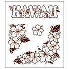 แผ่น Stamp ยาง Hawaiian Collection แบบ B