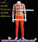 เสื้อผู้ชายสีสด เชิ้ตผู้ชายสีสด ชุดแหยม เสื้อแบบแหยม ชุดพี่คล้าว ชุดย้อนยุคผู้ชาย เสื้อสีสดผู้ชาย เชิ้ตสีสด (ไซส์ L:รอบอก 38) (RU) (ดูไซส์ส่วนอื่น คลิ๊กค่ะ)