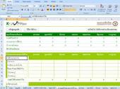 โปรแกรมวางแผนการใช้เงิน รายรับ รายจ่าย ปี 2554