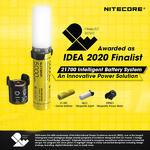 21700 Nitecore Intelligent Battery System ชุดแบตอัจฉริยะเป็นทั้งไฟฉายและพาวเวอร์แบงค์ในตัว