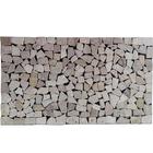 Stone mat พื้นหินสำเร็จรูป วัสดุปูพื้นลายหิน หินปูพื้น ตกแต่งบ้าน รุ่น DM725 สี Travertine ขนาด 70x40 ซม. ราคา 699 บาท/ชิ้น