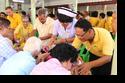 พิธีรดน้ำดำหัวขอพรผู้สูงอายุชมรมผู้สูงอายุชุมชนวัดประชาภิรมย์