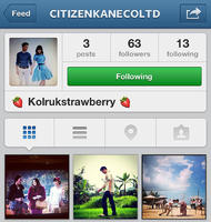 Citizen Kane บริษัทผลิตละครเคน-หน่อย เปิด instagram อย่างเป็นทางการ