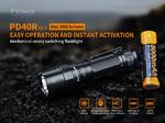 ไฟฉาย Fenix PD40R V2.0 3000 Lumens ชาร์จ USB พร้อมถ่านชาร์จ 21700