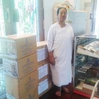 ขณะนี้ ศูนย์หนังสือไตรลักษณ์ ดำเนินการจัดส่ง ตู้   และหนังสือ พระไตรปิฎก 45 เล่ม แปลไทย ของมหาจุฬาลงกรณราชวิทยาลัย    ถึง �วัดจากแดง ต.ทรงคนอง อ.พระประแดง จ.สมุทรปราการ เรียบร้อยแล้ว