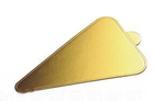 แผ่นรองเค้กสีทอง ทรงสามเหลี่ยม