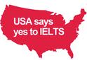 IELTS เป็นที่ยอมรับจากสถาบันในสหรัฐอเมริกา