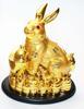 กระต่ายทองมุกเกาะเหรียญ