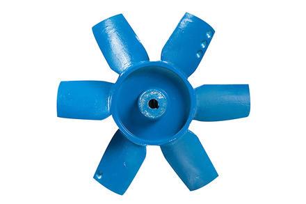 พัดลมถังกลมแบบมอเตอร์ขับตรง (Axial Fan : Direct Drive)