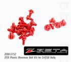 ชุดน๊อตไฟเบอร์แต่ง ZETA CRF250-Rally