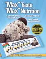 PROMAX Bar โปรตีนบาร์ คุณภาพสูง พร้อมทานทันที ยอดจำหน่ายสูงที่สุดจากอเมริกา ถึงประเทศไทยแล้ว