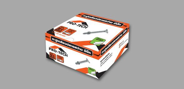 งานออกแบบ Packaging Pro-Tech 1
