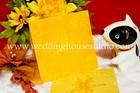 การ์ดแต่งงาน แบบจีน สีส้ม รหัส W 22-1