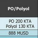 พีทีที โกลบอล เคมิคอล เตรียมลงทุนผลิตโพรพิลีน ออกไซด์ โดยบริษัท จีซี ออกซีเรน จำกัด (GC Oxirane ) และ โครงการโพลีออลส์ และพียู โดย บริษัท จีซี โพลีออลส์ จำกัด (GC Polyols )_ตามแผนกลยุทธ์การดำเนินธุรกิจขององค์การระยะยาว โดยการลงทุนในธุรกิจสาย Polyurethane ซึ่งเป็นกลุ่มเคมีภัณฑ์สมรรถะสูง (Performance