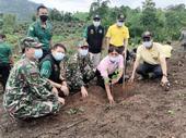 ร่วมโครงการปลูกป่า และป้องกันไฟป่า ดำเนินการในพื้นที่ป่าอนุรักษ์