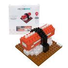 3D Microbrik - Kanikama Sushi ตัวต่อหน้าซูซิ 3D ข้าวหน้าปูอัด