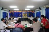 ประชุมกำนันผู้ใหญ่บ้าน ผู้นำชุมชน ตำบลปิงโค้ง เดือน มกราคม 2564