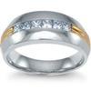 แหวนปอก 2 โทน