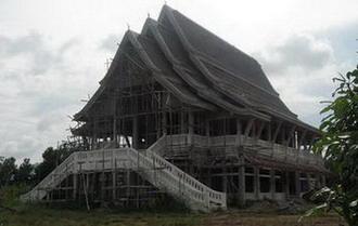 เริ่มสร้างอุโบสถ วัดเขาแผงม้า