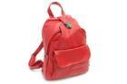 HB-4108-สีแดง-ราคาส่ง190ปลีก290บาท-กระเป๋าเป้แฟชั่นหนังPUนิ่มแต่งอะไหล่ล็อคด้านบนสไตล์งานแบรนด์