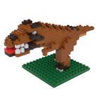 3D Microbrik - Dinosaur 3มิติ ไมโครบริค - ไดโนเสาร์ Tyranno Saurus T-REX