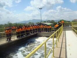 โครงการพาน้องรักษ์สิ่งเเวดล้อมประจำปี 2553