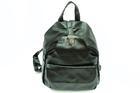 HB-4108-สีดำราคาส่ง190ปลีก290บาท-กระเป๋าเป้แฟชั่นหนังPUนิ่มแต่งอะไหล่ล็อคด้านบนสไตล์งานแบรนด์
