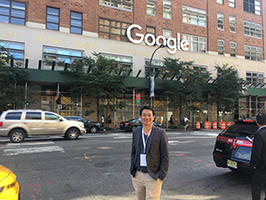 เข้าร่วมประชุม Google Premier Partner ที่ New York 2017