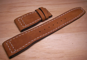Strap For Pilot IWC Watch.Old Bags Vintage Leather