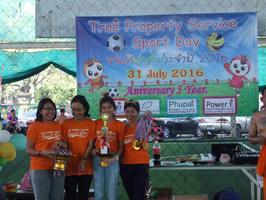 Sport Day 2016 -2017และเปิดรับสมัครคัดตัวนักฟุตบอลเพื่อลงแข่งขันฟุตบอลลีกในนาม ทีม True Property Fc .
