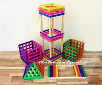 DIY Colorfull Tower