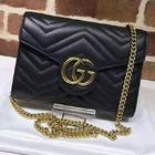 🎊🎊ใหม่มากพร้อมส่งค่ะ NEW Gucci mini bag marmont สีดำ (Hi end) 📌Size 20 cm.
