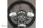 พวงมาลัยสีดำ หนัง Nappa เย็บด้ายสีดำ คาดสีดำที่12นาฬิกา ก้าน AMG ปุ่ม Race Display ซ้าย/ขวา