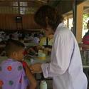 ฉีดวัคซีน น้องๆชั้น ป.1