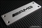 AMG Floor Mat Alloy Emblem