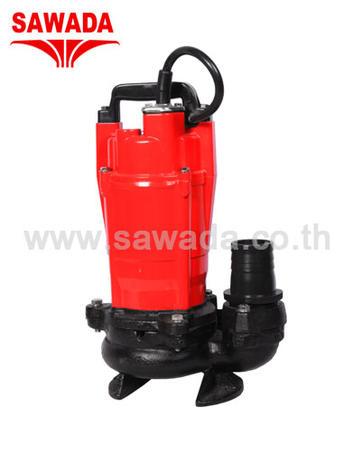 ปั๊มแช่ซาวาดะสำหรับน้ำเสีย รุ่น AQ2-22550S 400 วัตต์ ขนาดท่อ 2 นิ้ว