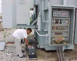 115 kV Power Transformer Turn Ratio Test