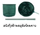 สวิงกุ้งด้ามอลูมิเนียมยาว  SUDAI  ( สีเขียว )