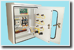 Transfer Pump Control (Cold Water Pump) ตู้คอนโทรลควบคุมน้ำดี
