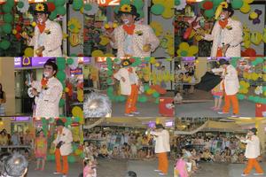 ปั่นโชว์ มาอีกแย้วววว.......กับการแสดงมายากลแนวสนุกสนาน กับเด็ก ๆ ณ ศูนย์การค้ากรีนเพลส พลาซ่า (Green Place Plaza)