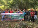 โครงการทำแนวป้องกันไฟป่าและแก้ไขปัญหาหมอกควัน บ้านห้วยจะค่าน หมู่ 9