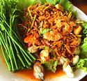 NO. SS38  ยำหอยนางรม (Spicy Oyster salad)