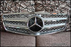 W212 E-Class Silver Chrome Grille V.2 [E Coupe Style]