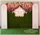 Backdrop Pink of Love จัดงานแต่งงานหาดใหญ่