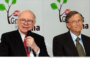 เศรษฐีการุณ �วอร์เรน บัฟเฟตต์� บริจาค $2 พันล้านเข้ามูลนิธิบิลเกตส์